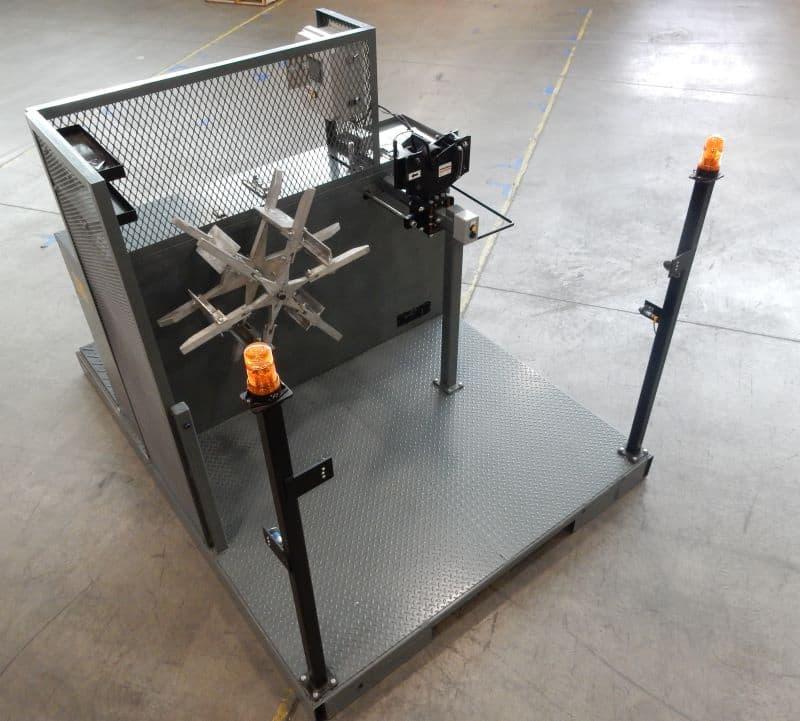équipements d'enroulement