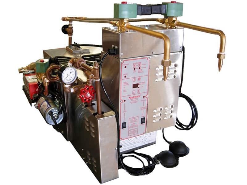 équipement vapeur